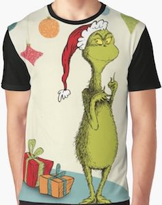 The Grinch And Presents T-Shirt