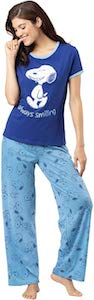 Women's Snoopy Always Smiling Pajama