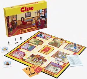 Bob's Burgers Clue Board game