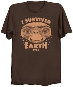 E.T. I Survived Earth T-Shirt