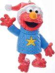 Sesame Street Elmo In Sweater Christmas Ornament