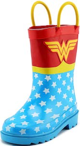DC Comics Kids Wonder Woman Rain Boots