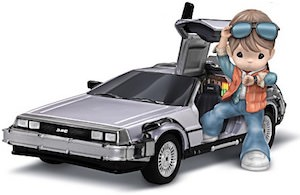 Marty Mcfly Precious Moments Figurine