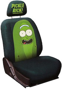 Pickle Rick Car Seat Cover