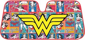 Wonder Woman Car Sun Shade