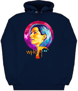 13th Doctor Who Portrait Hoodie