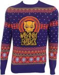Black Panther Wakanda Forever Christmas Sweater