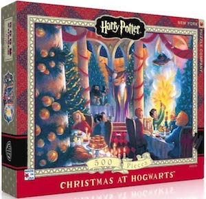 Christmas At Hogwarts Jigsaw Puzzle