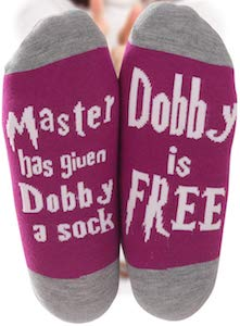 Harry Potter Dobby Is Free Socks