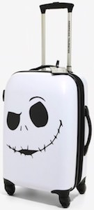 The Nightmare Before Christmas Jack Skellington Suitcase