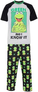 Men's Kermit The Frog Pajamas