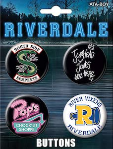 Riverdale Button Set