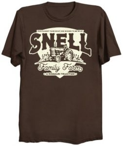 Ozark Snell Family Farm T-Shirt