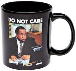 Stanley Do Not Care Mug with the Office logo