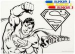 DC Comics Superman Color It Placemat