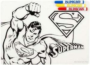 Superman Color It Placemat