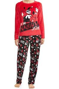 DC Comics Naughty Harley Quinn Pajama Set