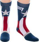 Captain America Star Socks