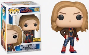 Captain Marvel In Jacket Pop! Figurine