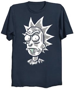 Drooling Rick T-Shirt