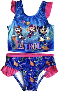 Girls PAW Patrol Swimsuit