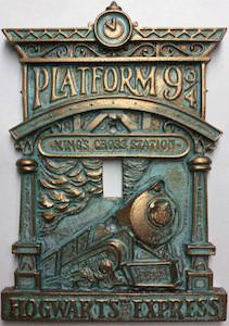 Hogwarts Express Light Switch Cover
