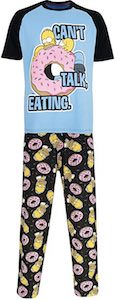 Homer Simpson Eating Pajama