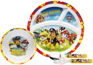 Kids PAW Patrol Dinner Set