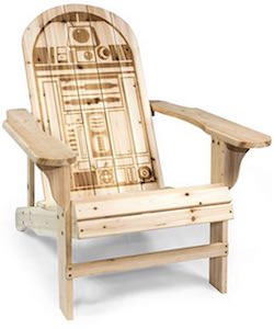 Star Wars R2-D2 Adirondack Chair