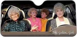 The Golden Girls Car Sun Shade