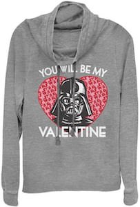 Star Wars Darth Vader Will You Be My Valentine Sweatshirt