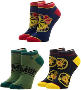 Captain Marvel Socks