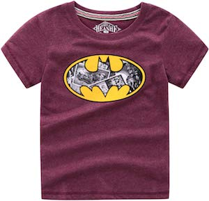 Batman Cartoon Logo T-Shirt