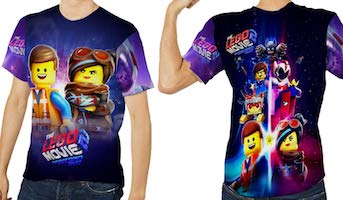 LEGO Movie 2 All Over T-Shirt