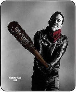 Negan And Lucille Blanket from The Walking Dead