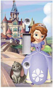 Sofia The First Light Switch Plate