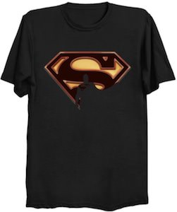 Superman And His Logo T-Shirt