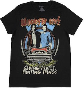 Supernatural Winchester Bros T-Shirt