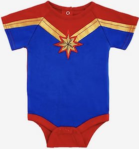 Captain Marvel Bodysuit