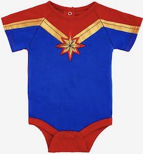Captain Marvel Bodysuit for all the babies