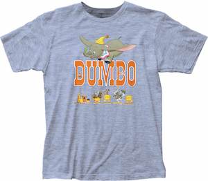 Dumbo And A Train T-Shirt
