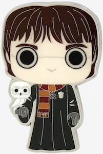 Harry Potter And His Owl Pin