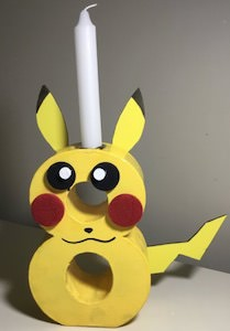 Pikachu Birthday Candle