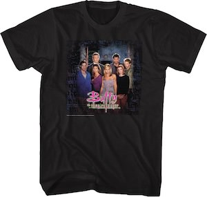 The Cast Of Buffy T-Shirt