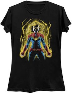 The Power Of Captain Marvel T-Shirt