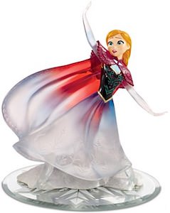 Anna Love Warms A Frozen Heart Figurine