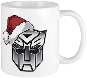 Autobot Christmas Mug