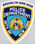 Brooklyn Nine-Nine Police Department Badge Sticker