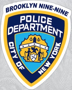 Brooklyn Nine-Nine Police Department Badge Sticker