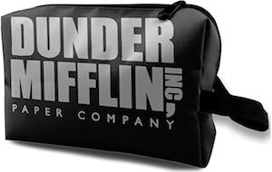 Dunder Mifflin Toiletry Bag